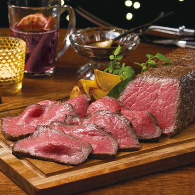 肉料理うし源ローストビーフ