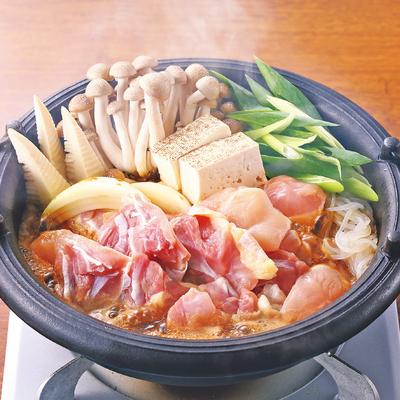 地鶏丹波黒どりすき焼き鍋セット