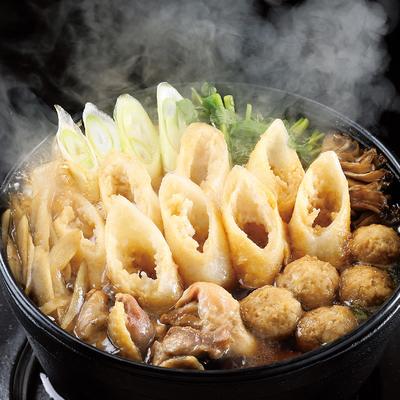 比内地鶏きりたんぽ鍋