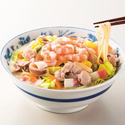 海鮮ゴロゴロちゃんぽん、皿うどん