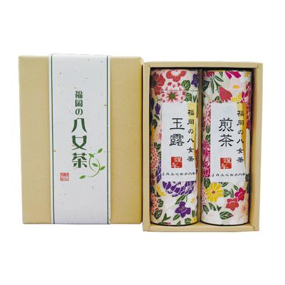 福岡の八女茶 煎茶・玉露詰合せ