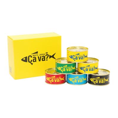 サヴァ缶5種6缶 アソートセット