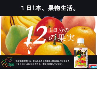 サンA 1日分の12の果実240ml PET