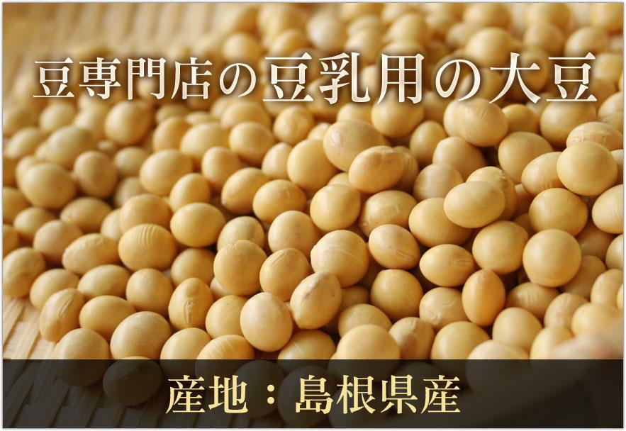 豆専門店の豆乳用大豆(タマホマレ)