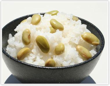 秘伝豆の豆ご飯