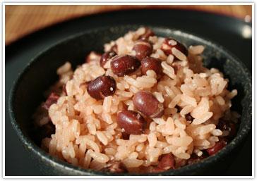 大納言小豆の赤飯