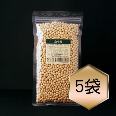【乾燥豆】白小豆お得セット(R2・北海道産)