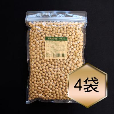 【乾燥豆】豆腐用大豆「シュウレイ」お得セット(H30・富山県産)