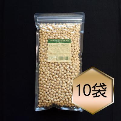 【乾燥豆】リポキシゲナーゼ欠失大豆「すずさやか」まとめ買いセット(H29・秋田県産)