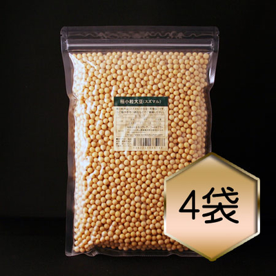 【乾燥豆】極小粒大豆「スズマル」お得セット(H30・北海道産)