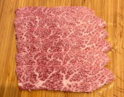 黒毛和牛A5  霜降り焼肉用  1パック 120g