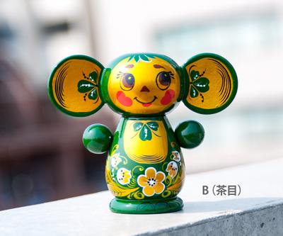 【VOLGA】ホフロマ塗り チェブラーシカ S グリーン