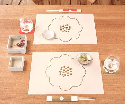 【遊ZEN】いちりん テーブルマット
