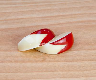 【SAIKAI】うさぎリンゴ箸置