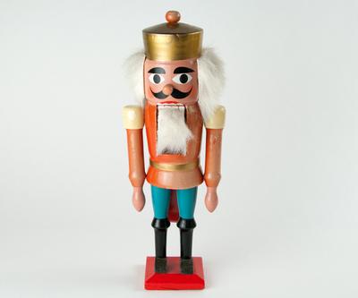 【古雑貨】ドイツ製くるみ割り人形 B 【アンティーク品・返品不可商品】