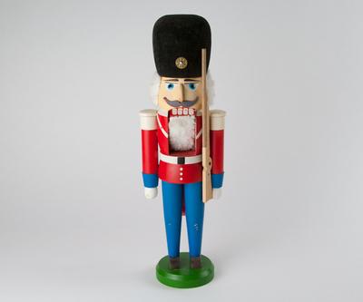 【古雑貨】旧東ドイツ製くるみ割り人形 A 【アンティーク品・返品不可商品】
