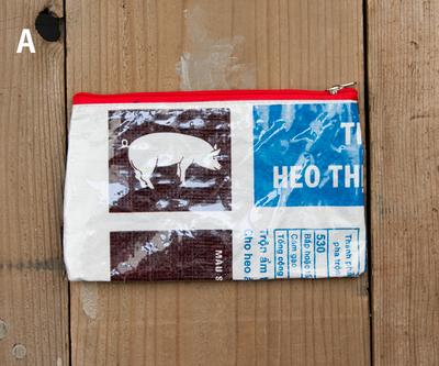 飼料袋リサイクルバッグ ポーチ M