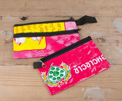タイ製 リサイクルポーチ