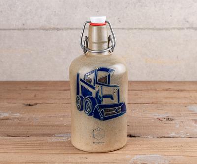 【古雑貨】「MEBUS社」ボトル (販促品)【アンティーク品・返品不可商品】