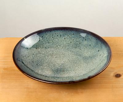 【TAKEBITO】小石原焼 6寸皿 海鼠釉