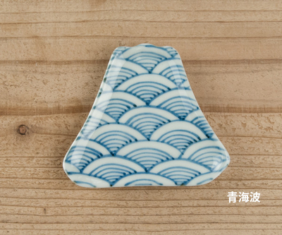 九谷焼豆皿 富士山
