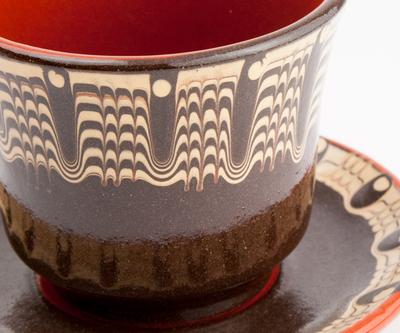 トロヤン陶器 MONOTONE カップ&ソーサー