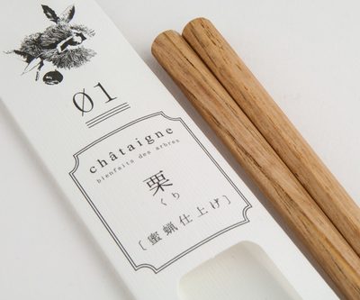 【tetoca】 果樹の箸 蜜蝋仕上げ