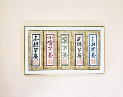 ★北海道産小豆使用 ようかん定番5種セット