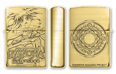 8月上旬発売予定 魔法少女リリカルなのは Detonation Zippo B柄(フェイト)