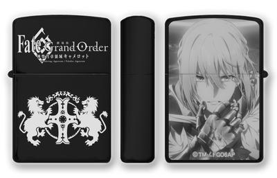 5月上旬発売予定 劇場版 Fate/Grand Order -神聖円卓領域キャメロット-Zippo A柄(べディヴィエール)