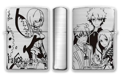 5月上旬発売予定 劇場版 Fate/Grand Order -神聖円卓領域キャメロット-Zippo B柄(カルディア)