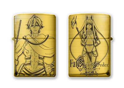 5月上旬発売予定 劇場版 Fate/Grand Order -神聖円卓領域キャメロット-Zippo D柄(オジマンディアスとニトクリス)