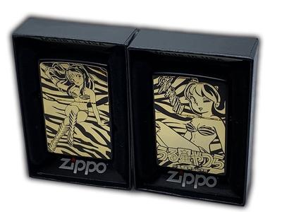 11月2日(火)発売予定 うる星やつら Zippo A柄(ブラック×ゴールド)