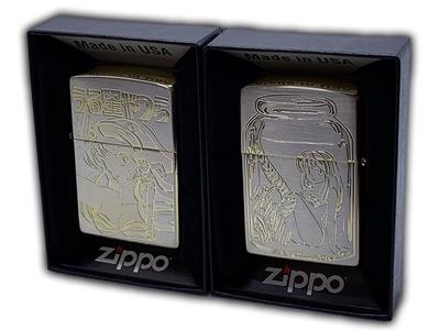 11月2日(火)発売予定 うる星やつら Zippo B柄(シルバー×ゴールド)