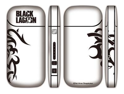 ブラックラグーン iQOSシール(ホワイト)