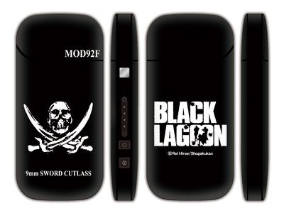 ブラックラグーン iQOSシール(ブラック)