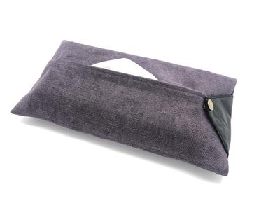 ティッシュカバー Deep purple