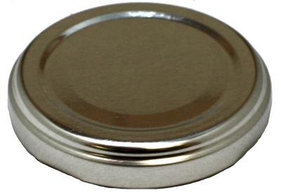 AJP 175 透明用ツイストキャップ 銀 【2個入】