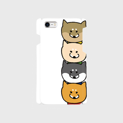 柴犬ラク iphoneケース [ラクだんご]