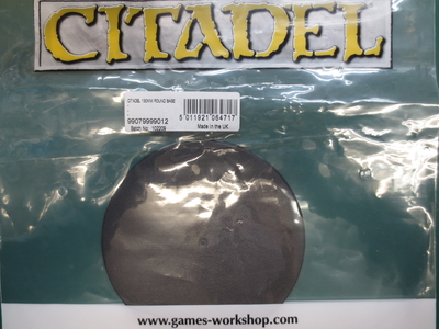 Citadel 130mm Round Base(1個入)