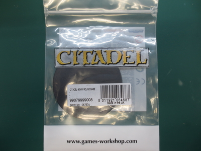 Citadel 80mm Round Base(1個入)