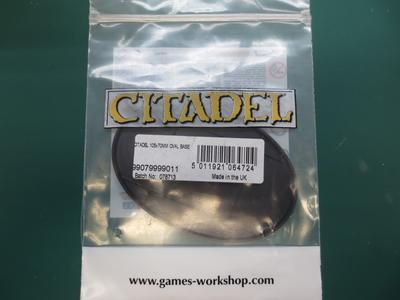 Citadel 105x70mm Oval Base(1個入)