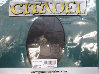 Citadel 170x105mm Oval Base(1個入)