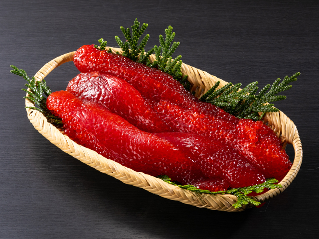 塩紅鮭筋子500g
