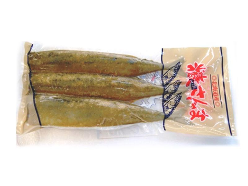 糠さんま(北海道厚岸産、3尾入り)