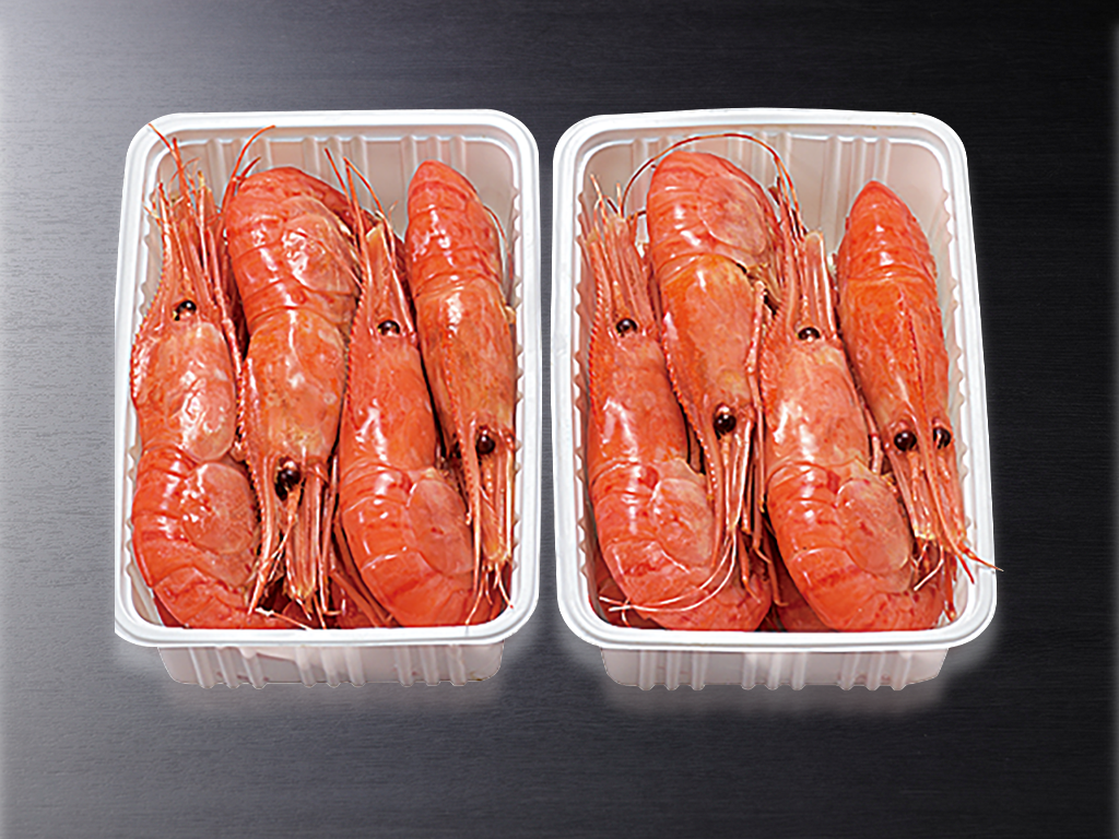 刺身用冷凍ぼたん海老メス500g×2パック(11尾入り)