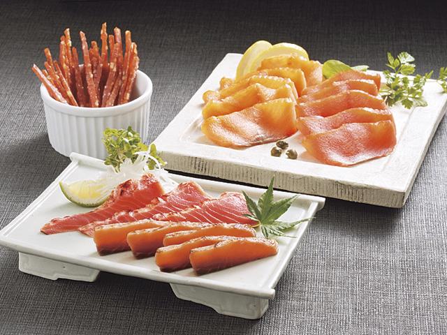 スモークサーモン&炙り焼きセット