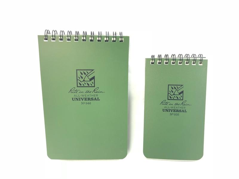 Pocket TOP-SPIRAL All Weather Notebooks / ライトインザレイン 防水ノート