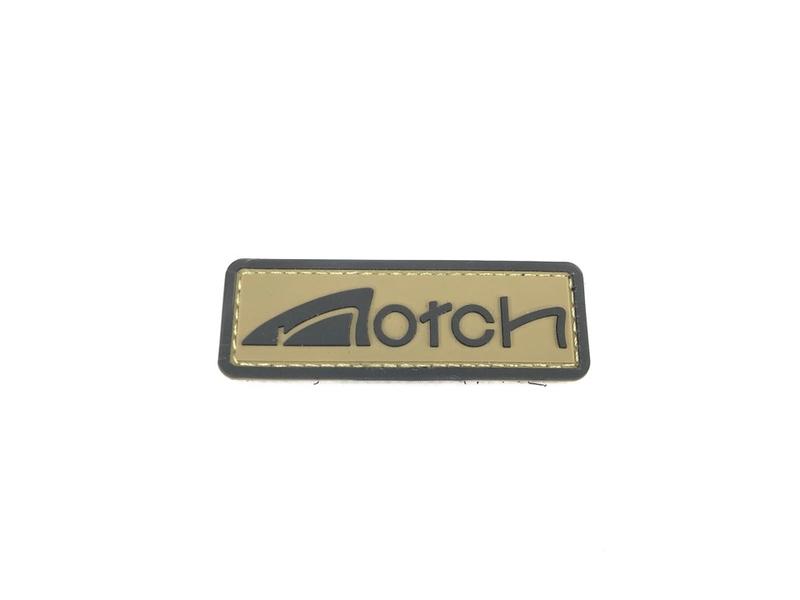 Notch PVCロゴパッチ