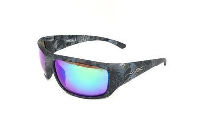 ワイリーX オメガ クリプテック ネプチューン エメラルドミラー偏光レンズ